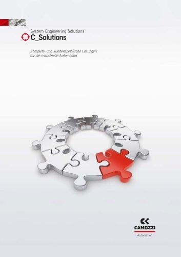 Komplett- und kundenspezifische Lösungen für die industrielle Automation DE