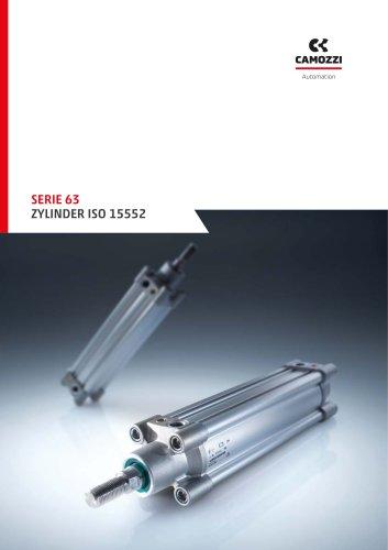 Serie 63 Zylinder ISO 15552 DE