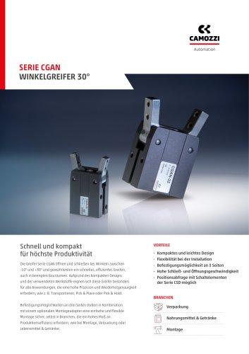 Serie CGAN Winkelgreifer 30° DE