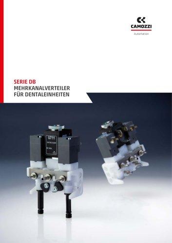 Serie DB Mehrkanalverteiler für Dentaleinheiten DE
