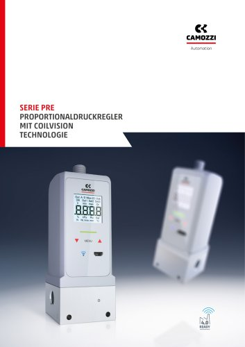 Serie PRE Proportionaldruckregler mit Coilvision Technologie DE