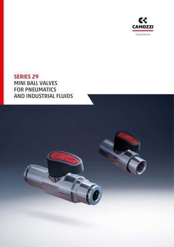 Series 29 Mini ball valves EN