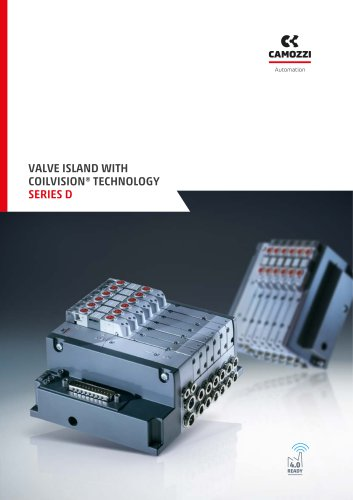 Series D valve island with coilvision technology EN