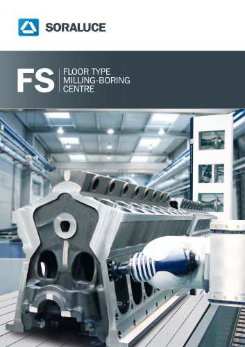SORALUCE FS floor type milling boring machine