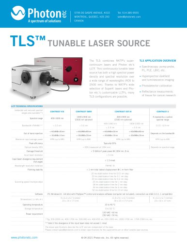 TUNABLE LASER SOURCE