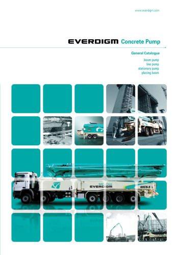 Concrete Pump General Catalogue