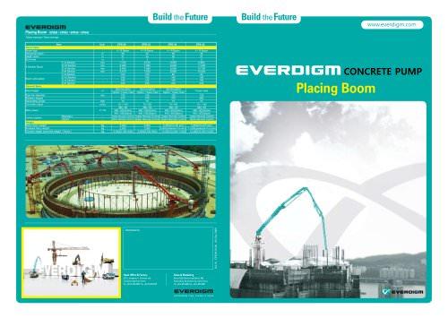 Concrete Pump Placing Boom Catalogue