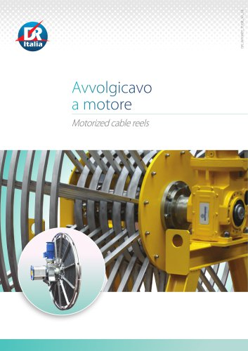 Motorized cable reels