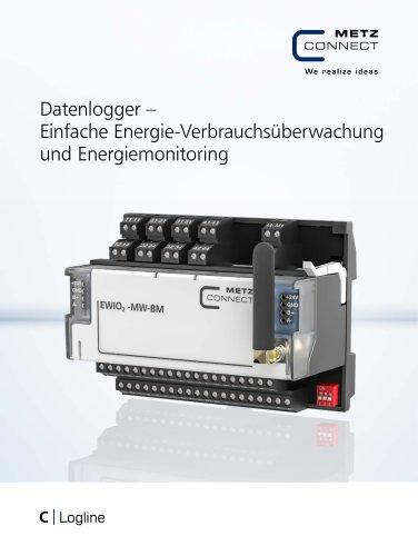 C|Logline - Datenlogger – Einfache Energie-Verbrauchsüberwachung und Energiemonitoring
