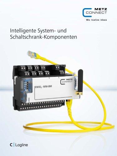 C|Logline - Intelligente System- und Schaltschrank-Komponenten