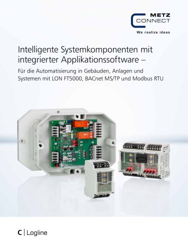 C|Logline - Intelligente Systemkomponenten mit integrierter Applikationssoftware