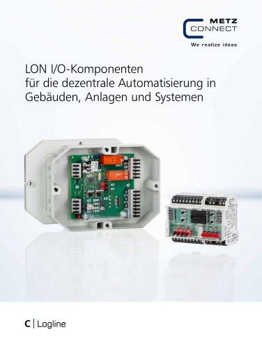 C|Logline - LON I/O-Komponenten für die dezentrale Automatisierung in Gebäuden, Anlagen und Systemen