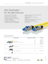 P|Cabling - 40G Patchkabel – für 40 Gbit Ethernet - 2