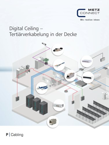 P|Cabling - Digital Ceiling – Tertiärverkabelung in der Decke
