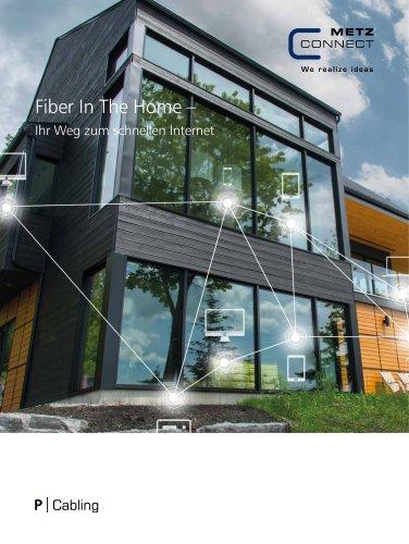 P|Cabling - Fiber In The Home – Ihr Weg zum schnellen Internet