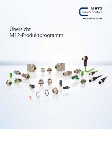 P|Cabling - Übersicht M12-Produktprogramm