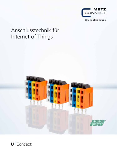 U|Contact - Anschlusstechnik für Internet of Things