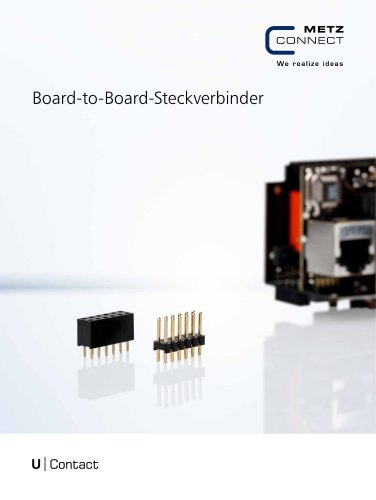 U|Contact - Board-to-Board-Steckverbinder
