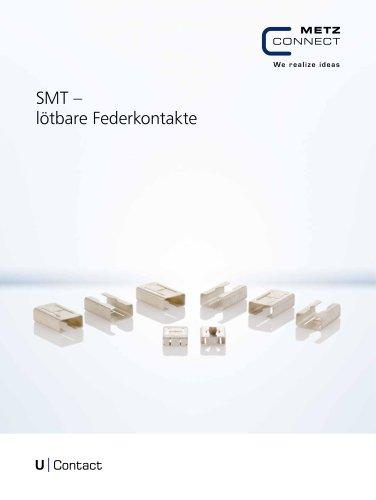 U|Contact - SMT – lötbare Federkontakte