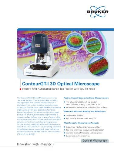 ContourGT-I 3D Optical Microscope