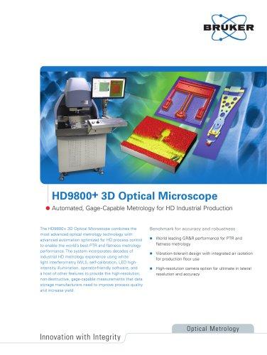 HD9800+ 3D Optical Microscope