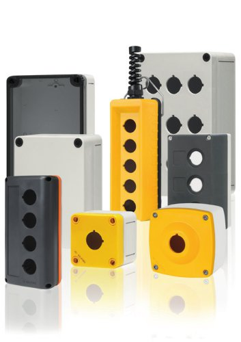 080 THERMOPLASTIC PUSH-BUTTON BOXES, ENCLOSURES