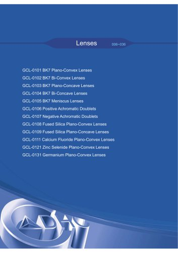 Daheng New Epoch Technology,Inc.-Lenses
