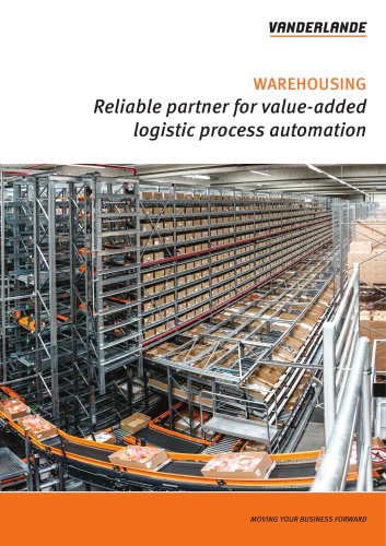 Warehousing brochure