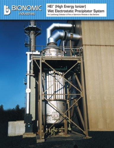 HEI™ WESP Wet Electrostatic Precipitators