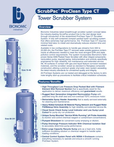 ScrubPac™ ProClean™ Type CT Integrated Packaged Tower Scrubber System