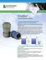 ScrubSeal™ Vacuum Overflow Valves