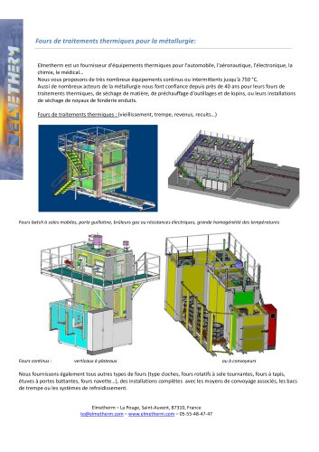 aluminium heating furnace