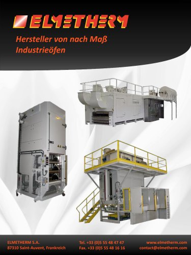 Continuous process oven