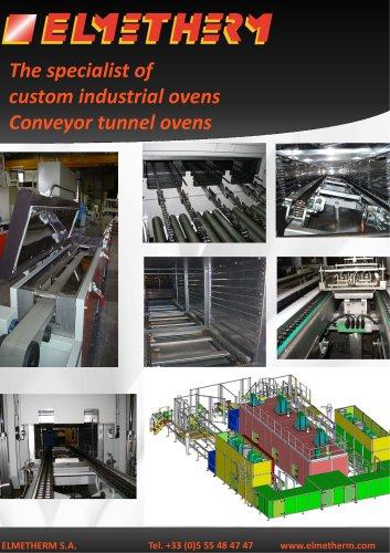 conveyor tunnel ovens
