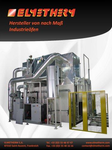 Herstellung von Heissluftöfen