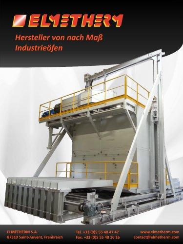Herstellung massgeschneiderter Lösungen im Industrieofenbau