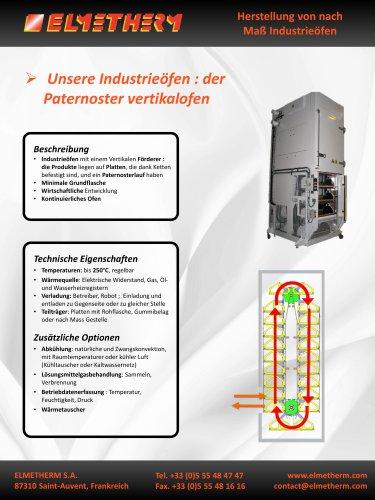 Herstellung von Turmöfen