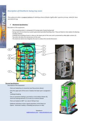 vertical dryer oven