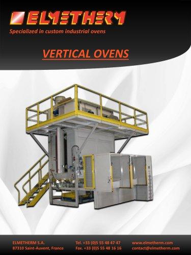 Vertical ovens