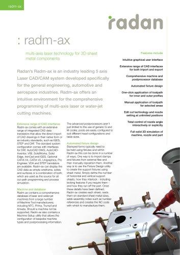 RADAN Radm-ax