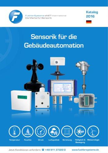 Katalog 2016 - Sensorik für die Gebäudeautomation