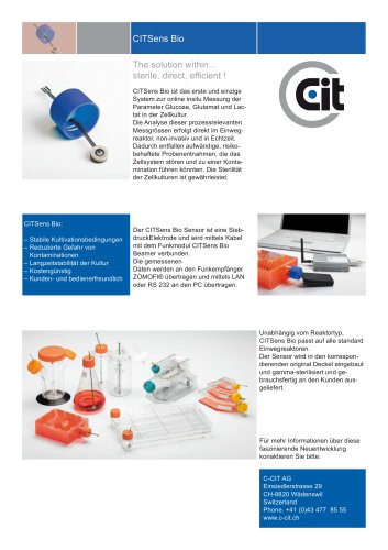 CITSens Bio Poster