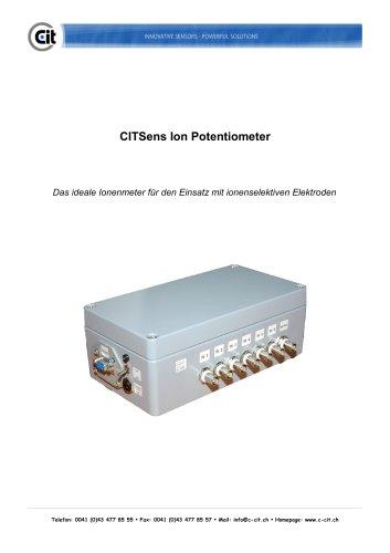 CITSensIon Potentiometer Produktkatalog