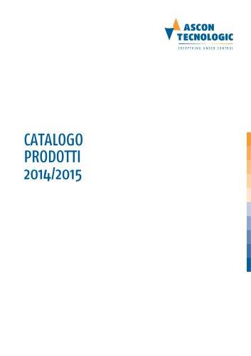 CATALOGO PRODOTTI 2014/2015