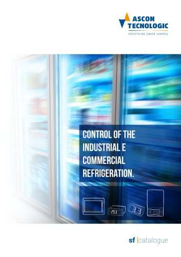 control of the industrial e commercial refrigeration.