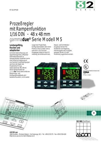 Prozessregler mit Rampenfunktion 1/16 DIN - 48 x 48 mm