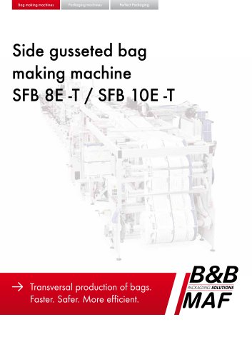 SFB 8E -T / SFB 10E -T