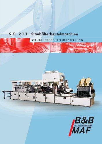 SK 211 Staubfilterbeutelmaschine