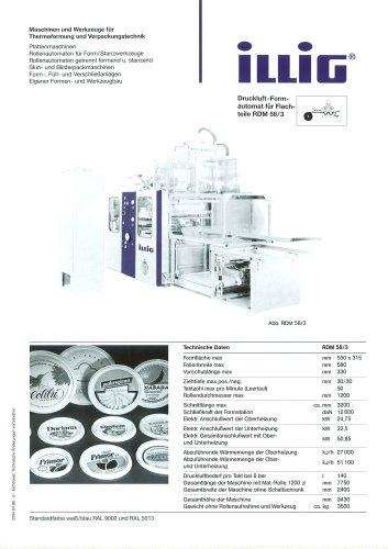 Rollenautomat für Form-/Stanzwerkzeuge RDM 58/3