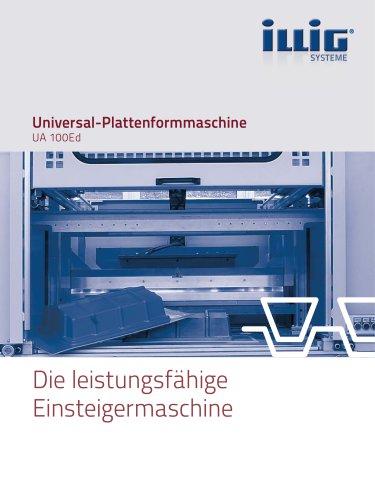 Universal-Plattenformmaschine